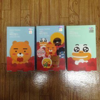 LINE FRIENDS Character Sticking Plaster