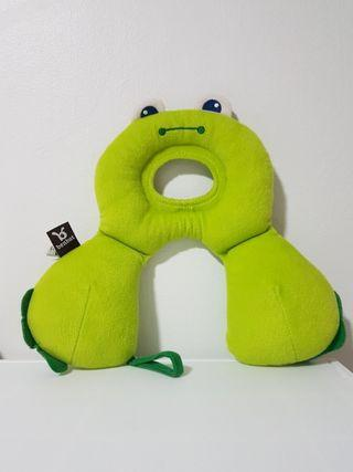 authentic BENBAT headrest support  travel friend frog 0 - 12 months