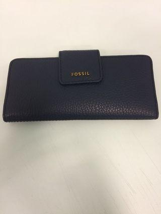 Fossil Maddison Clutch Leather Wallet