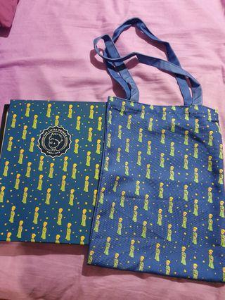 🚚 My Little Prince Blue Tote Bag