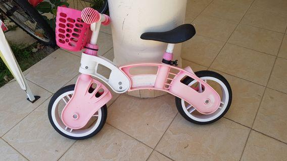 Child's learning bike