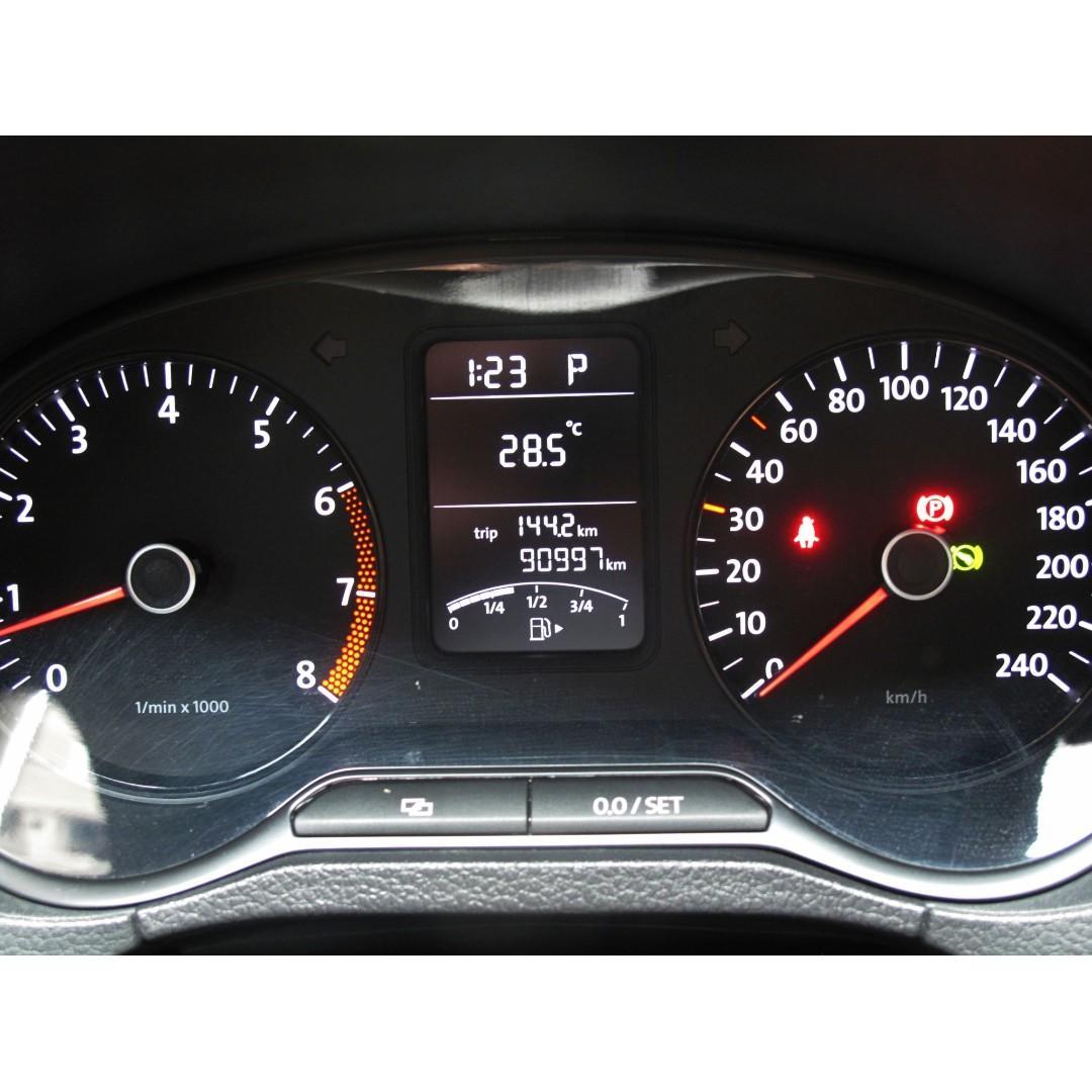 2012年 福斯 POLO 熱門年輕掀背車型 五門小鋼砲 進口小車國產價格即可入手