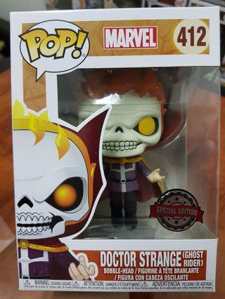 Funko Pop Doctor Strange as Ghost Rider