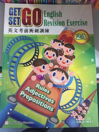 (徵收)小學英文考前衝刺訓練Get Set, Go English Revision Exercise 2B,3A,4A,4B
