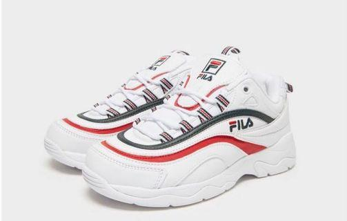 Fila Ray (reflect red line refer pic)