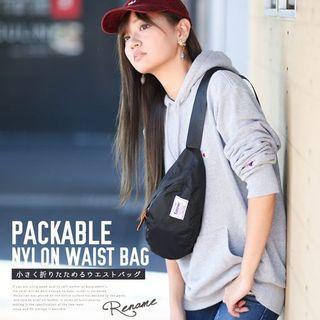 Rename nylon fanny pack