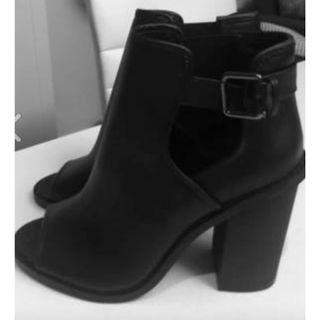 Ankle Boots Open Toe 6.5 [NEW!]