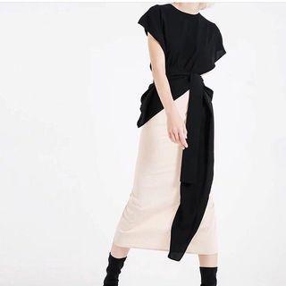 🚚 [客已定]設計款優雅長洋裝+黑洋裝