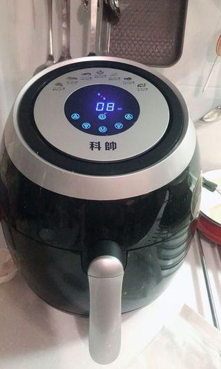 科帥AF606氣炸鍋5.5L攝氏面板