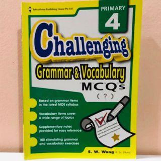 P4 Challenging Grammar & Vocabulary