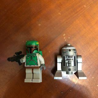 Lego 人仔 boda fett Star Wars