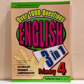P4 English 3-in-1 Assessment Book