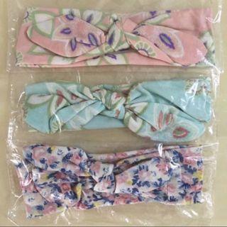BN 🎀Floral/ Flower Hairbands/ Headbands/ Hair/ Head Accessories + Ribbon (Baby Girl)🎀