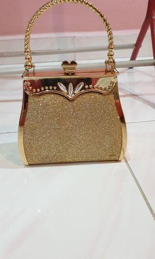 Gold Dinner Clutch / Bag