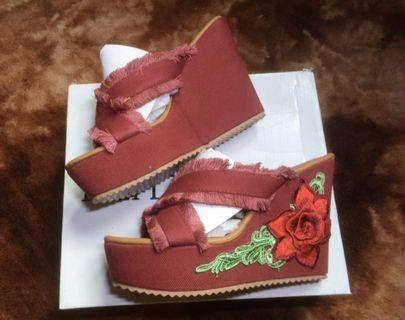 Wedges by Theflickstore (RED)
