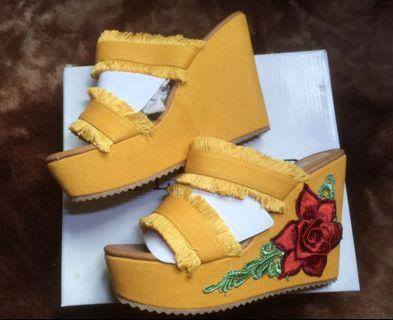 Wedges by Theflickstore (YELLOW)