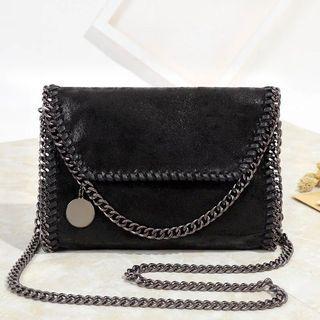 New women's bag casual shoulder Messenger bag chain bag fashion chain hand-cranked bag sling bag crossbody