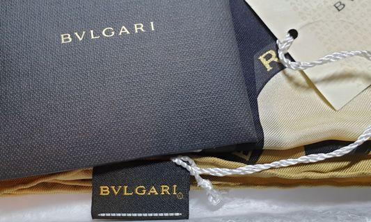 🚚 BVLGARI elegance scarf