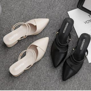 Sexy sandal 2019 Fairy cute sandal high-heeled thick summer shoes raya