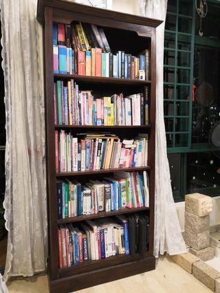 Teak wooden Book Shelf