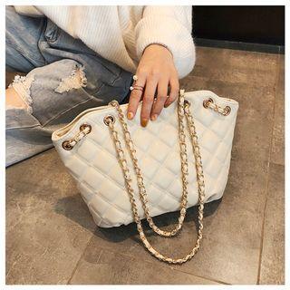 New bag girl 2019 New pattern Korean Edition shoulder quilted beg handbag raya