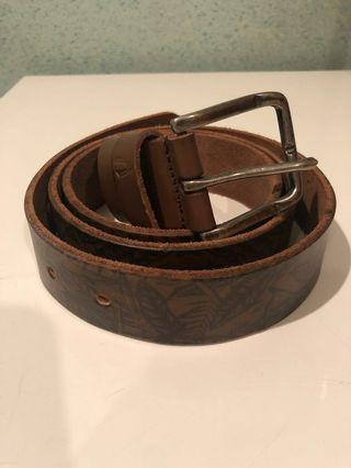 Camel Active Leather Belt in Brown