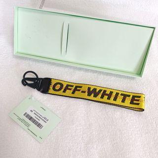 正版OFF WHITE鑰匙圈