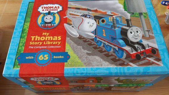 🚚 Thomas The Tank Engine Train Box Set 65 books