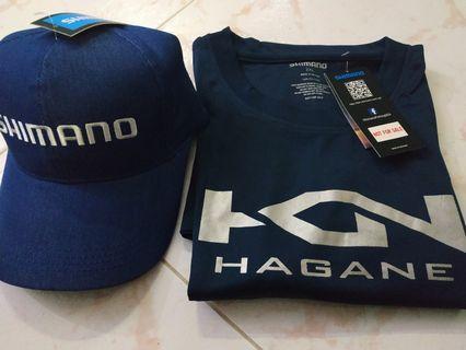 Shimano Tshirt and Cap fishing