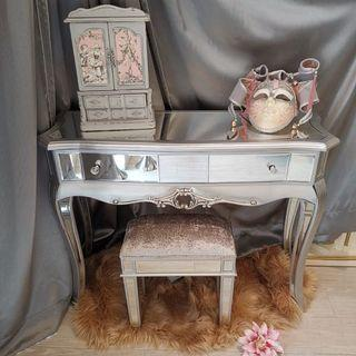 Mirrored Desk With A Touch Of French