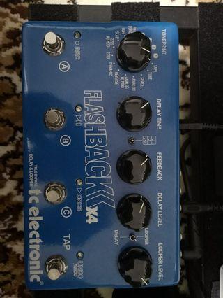 TC Electronic Flashback X4 Delay Guitar Pedal