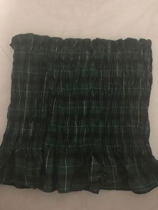 Checkered Tube Top