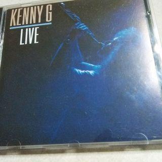 kenny g live金碟(碟新凈冇花)