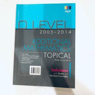 Singlee O Level Additional Mathematics Tropical