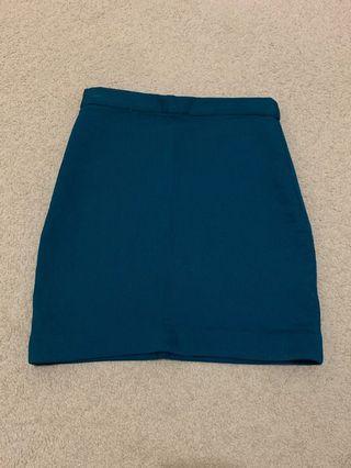 ELLIATT dark turquoise skirt size XS