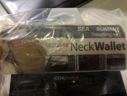 掛頸袋 Neck Wallet 5 Bkack/Grey