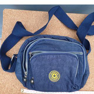 Hanyue-navy blue sling bag