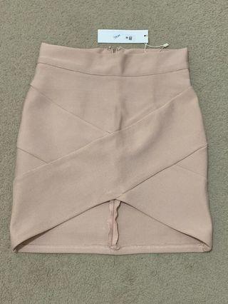 BLOSSOM bandage skirt BNWT