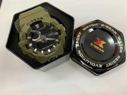 X-Gear X937(Matte Green)