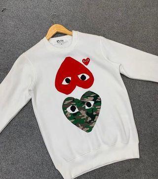 🚚 Comme Des Garçons Sweatshirt  Authentic