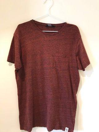 (FAST DEAL!) Mens T-Shirt in Brown