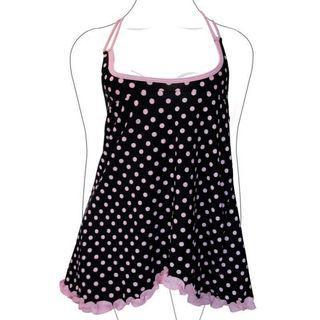 EASY SHOP 全新 豔夏甜心 外罩式背心 「俏麗黑」