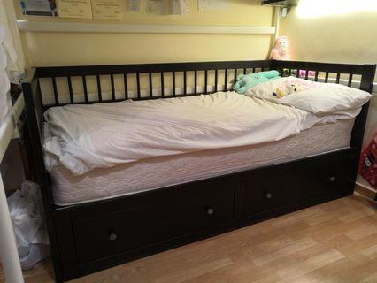 Chinese style Day Bed Ikea 2 drawers w/ or wo/ mattress