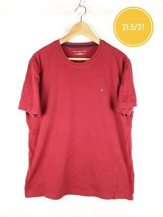 TOMMY HILFIGER SMALL LOGO EMBROID TEE
