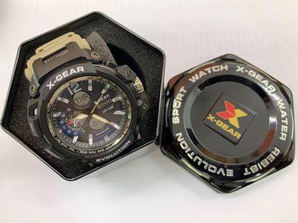 X-Gear X966 (Black+Silver)