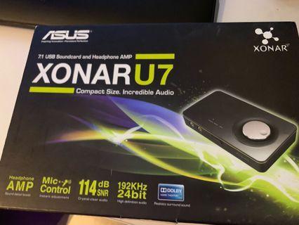 ASUS Xonar U7 external USB 7.1 sound card