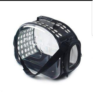 Pet carrier - transparent