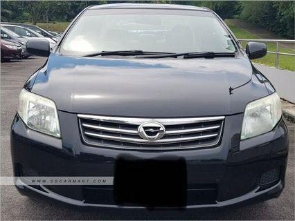 [COE Car / GoJEK / Grab / Car Rental] Toyota Axio $330 Weekly for Rent