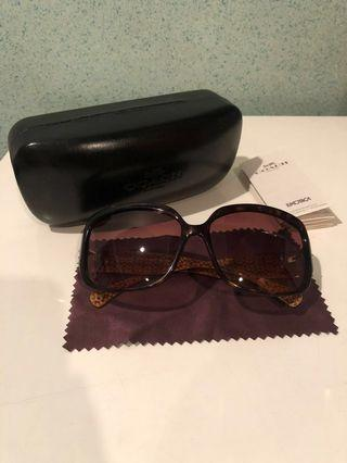 Authentic Coach Sunglasses in Brown