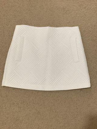 TOPSHOP patterned skirt